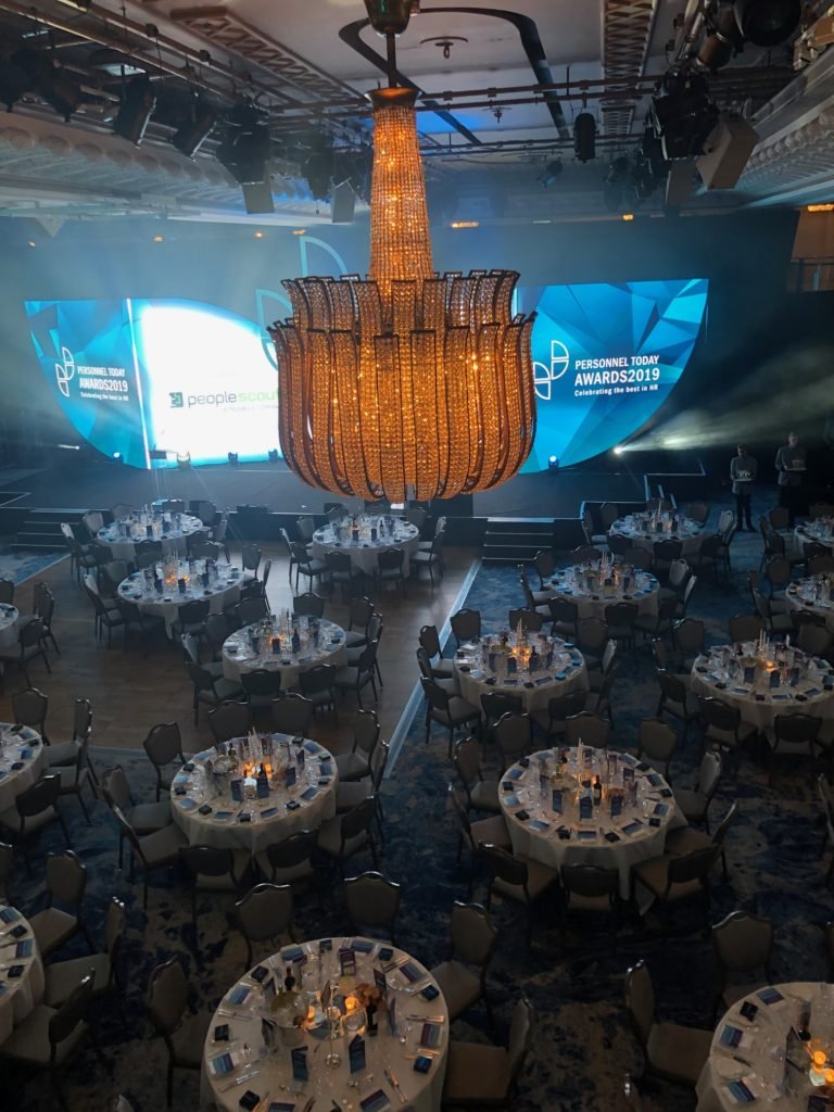 Personnel Today Awards 2019 Tables